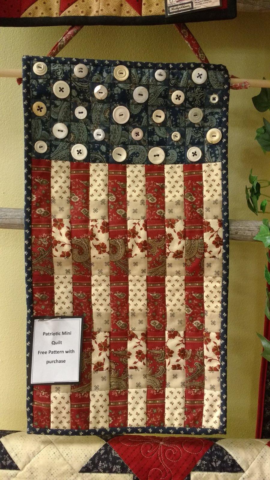 Kit Patriotic Mini Quilt 7