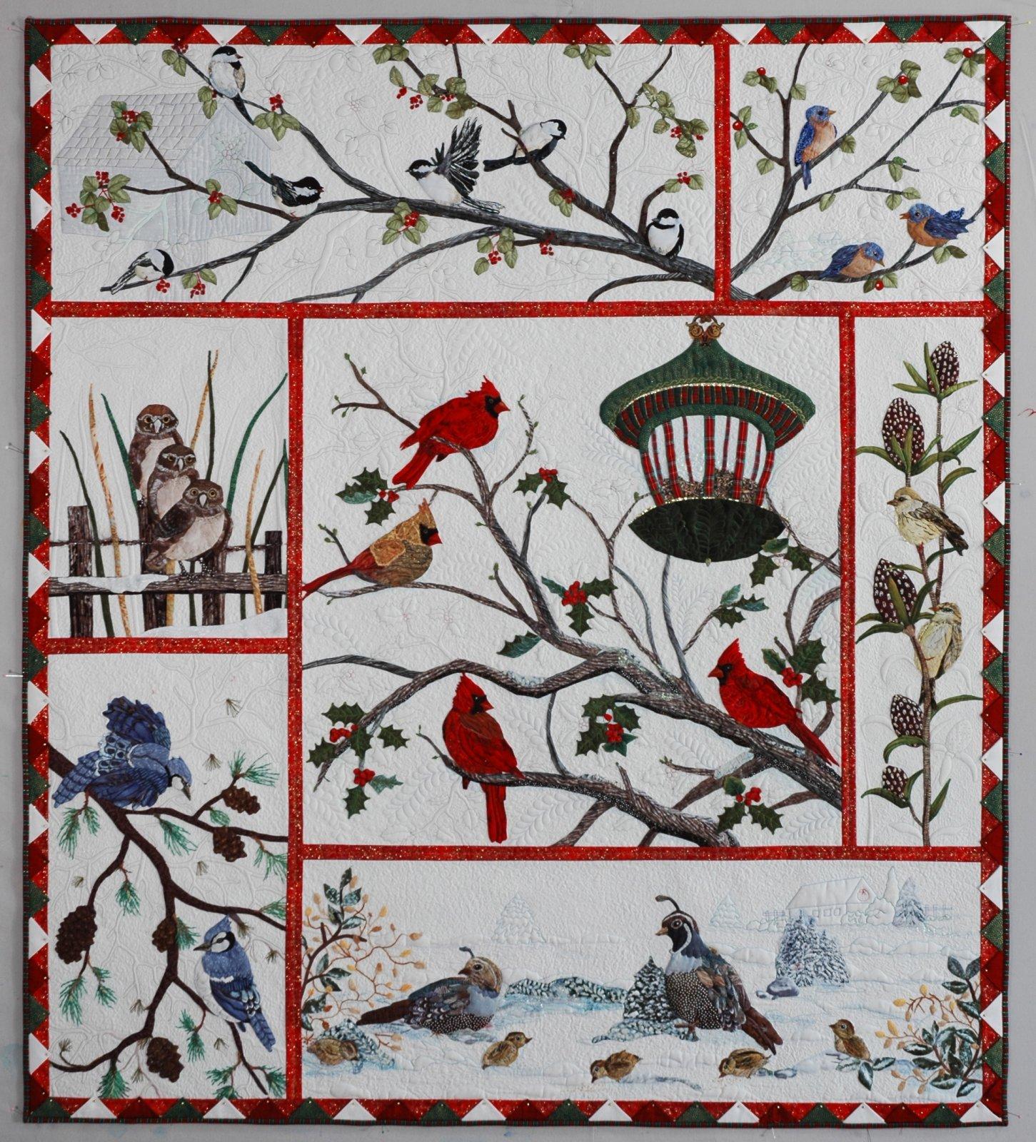 Audubon S Christmas Entire Quilt Pattern