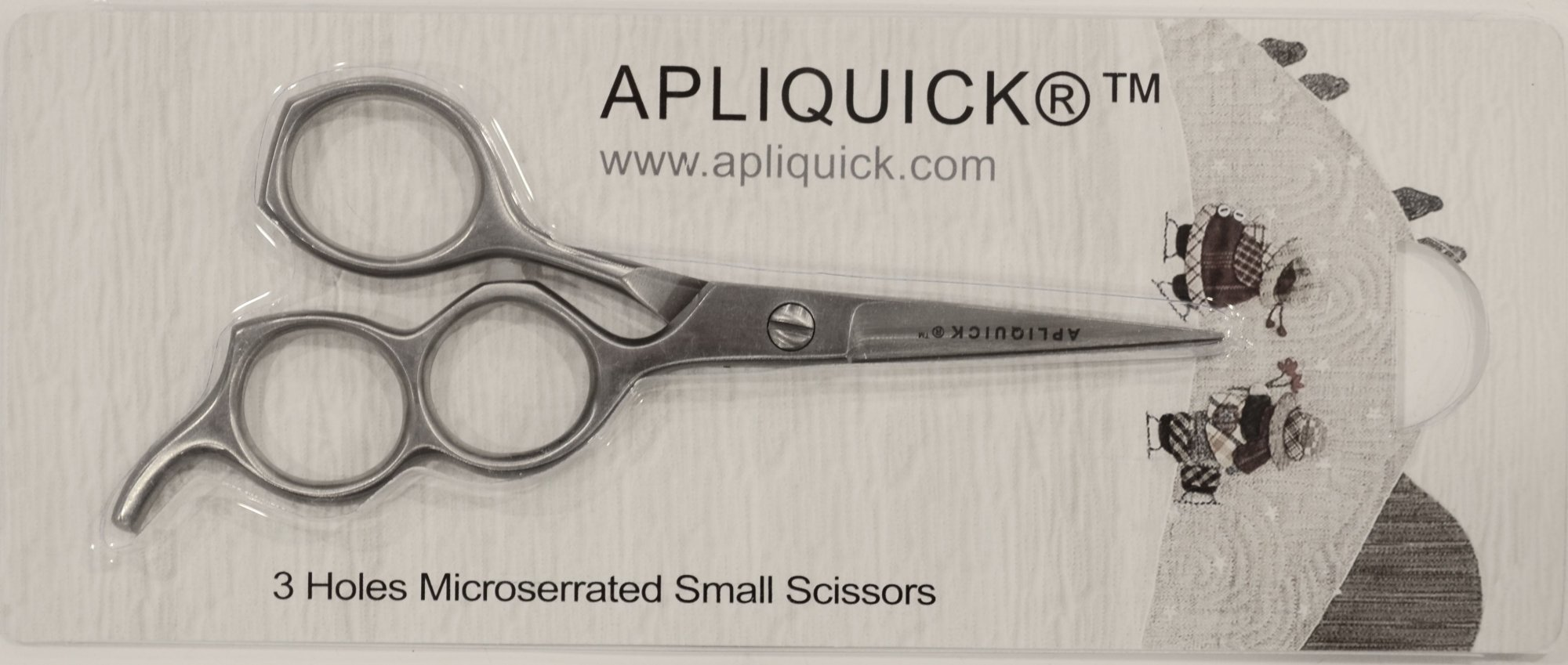 Apliquick 3 hole scissors/Medium