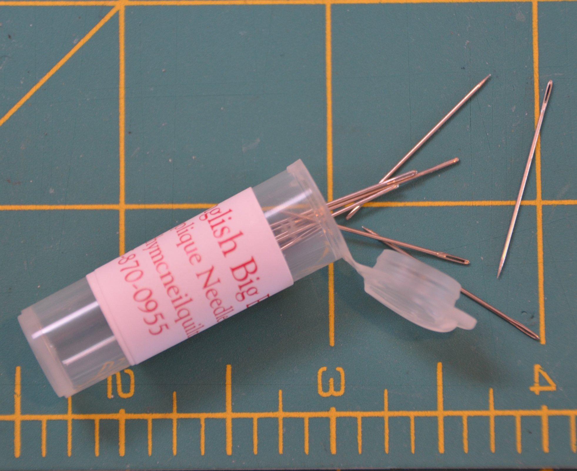 10B Big eye hand applique needle
