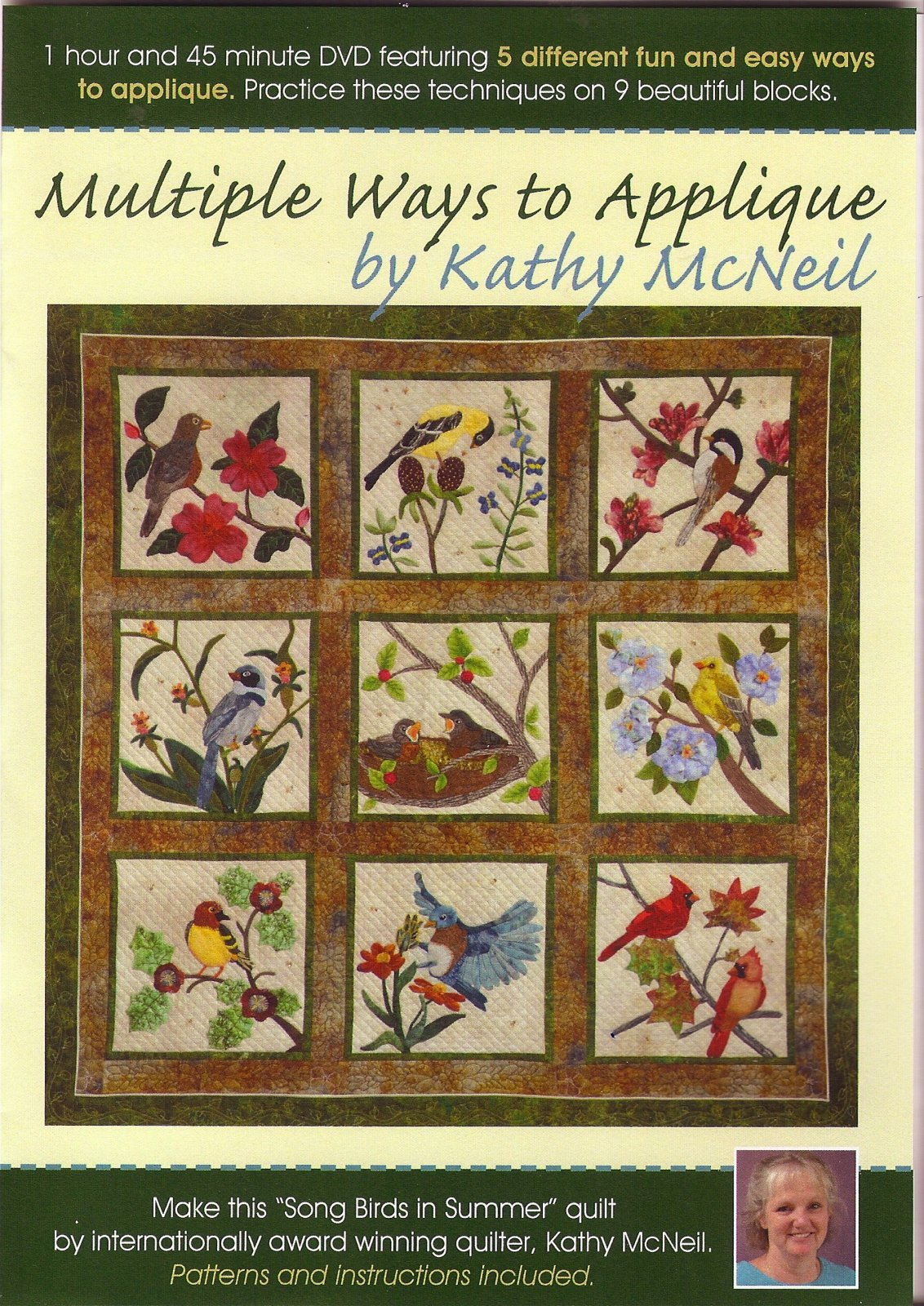 Multiple Ways to Applique/ DVD