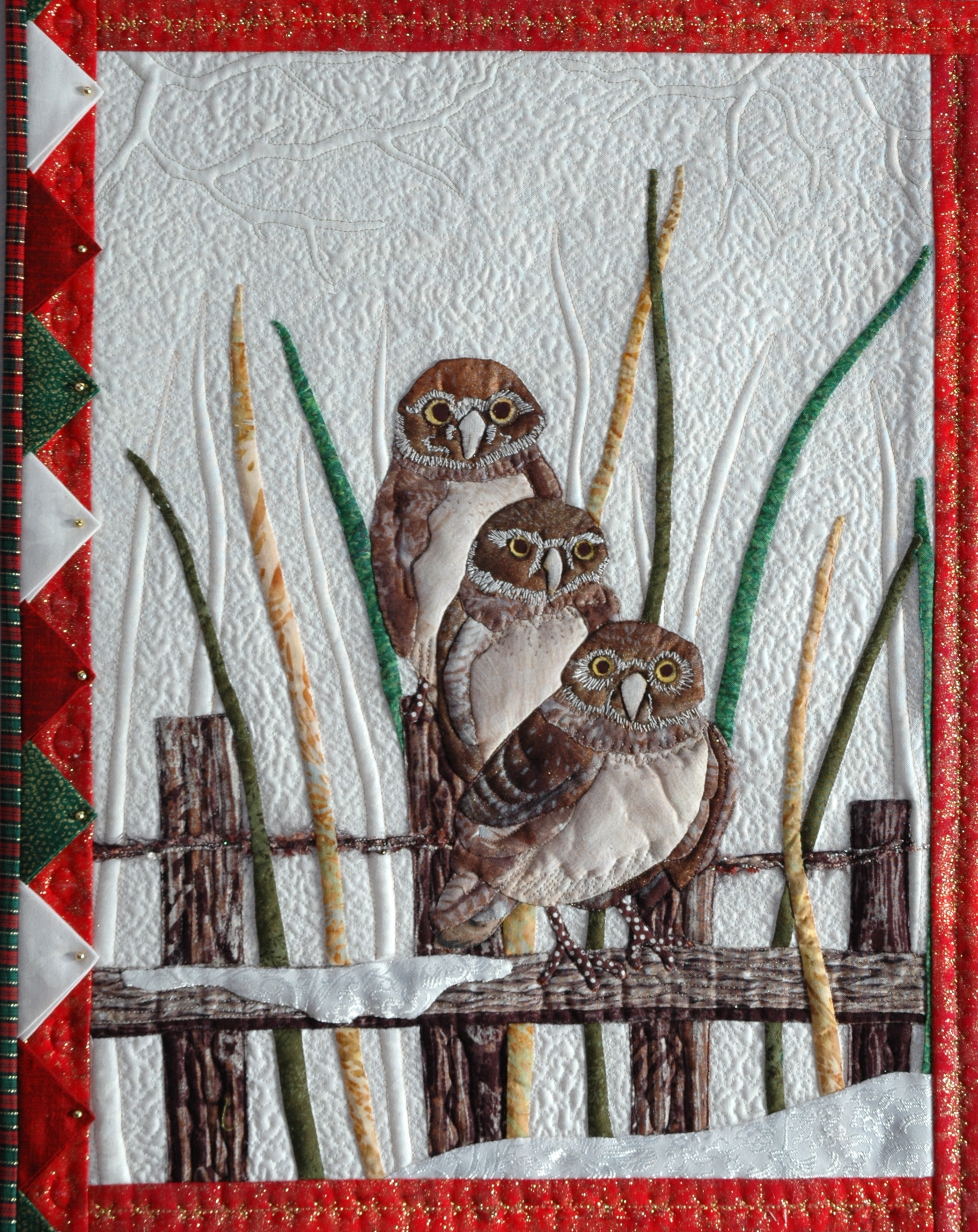 Owls block pattern