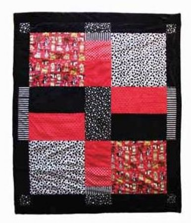 Four Square Cuddle Quilt