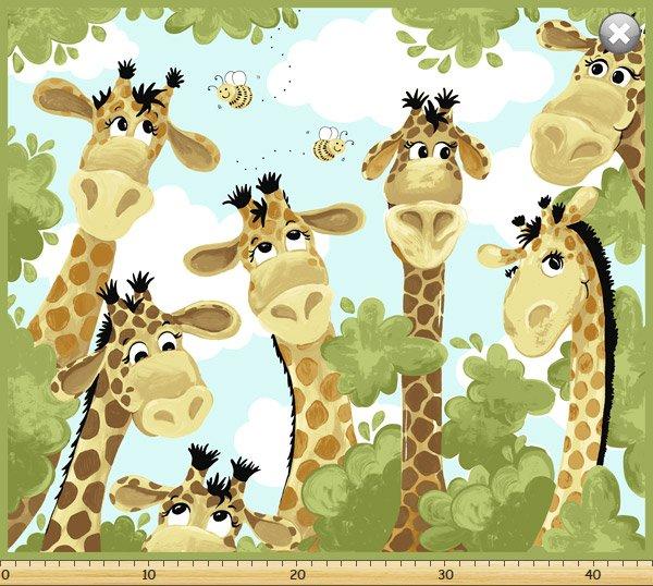 Zoe The Giraffe Panel Sb20062 430 20062430