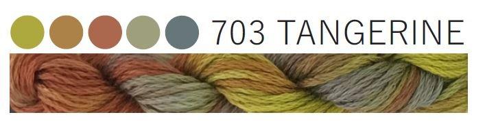 Cottage Garden Thread #703 Tangerine