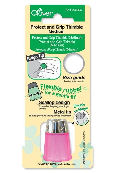 Clover Protect and Grip Thimble (medium) #6026