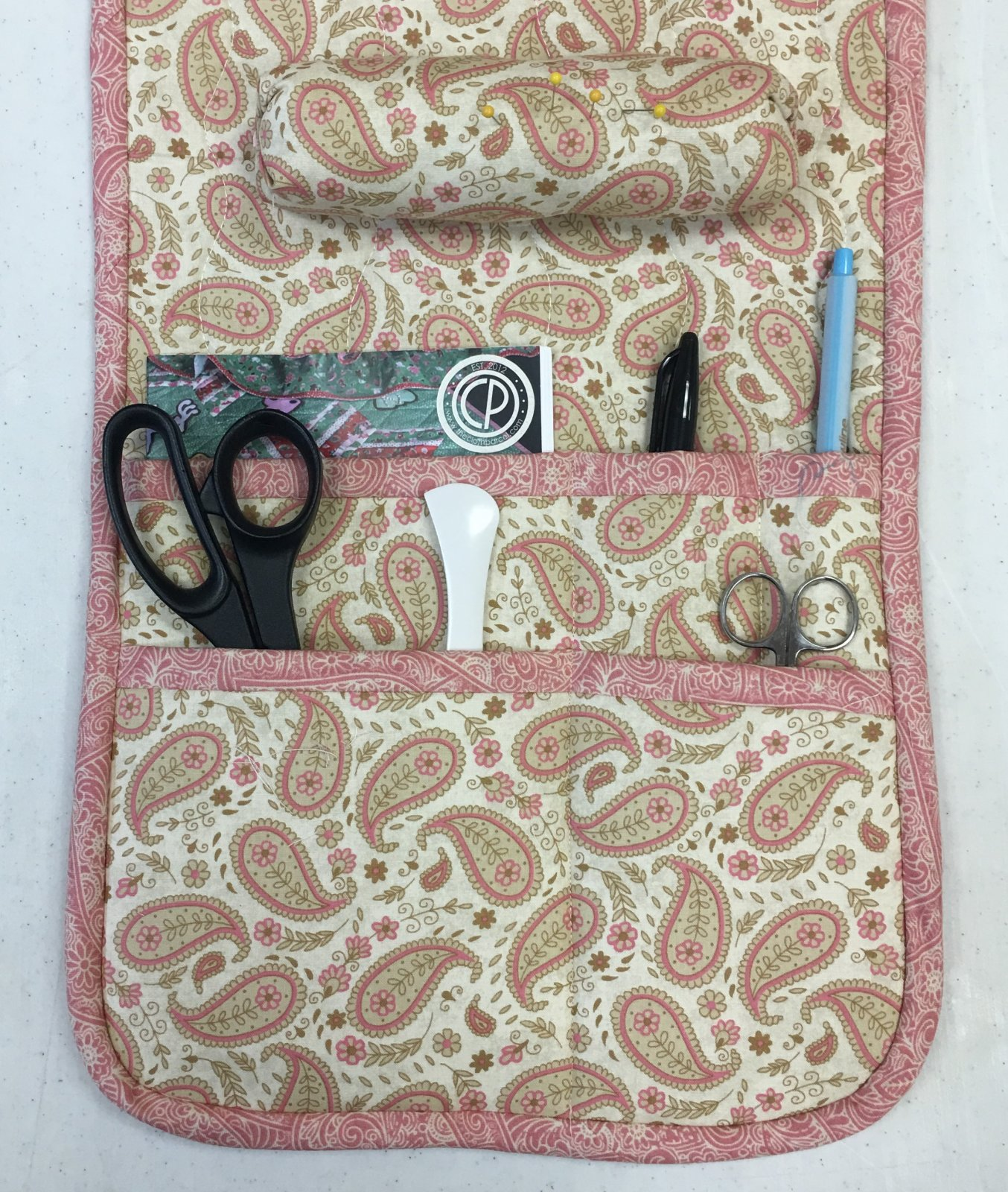 Arm Chair Sewing Caddy