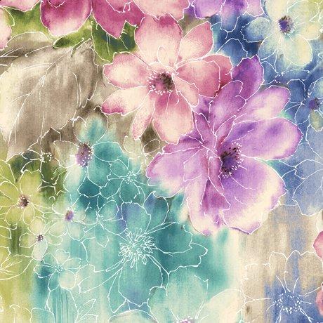 Ariel Watercolor Floral