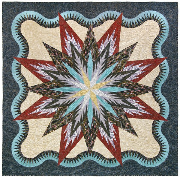 Judy Niemeyer Bali Wedding Star Kit: Quiltworx Kits