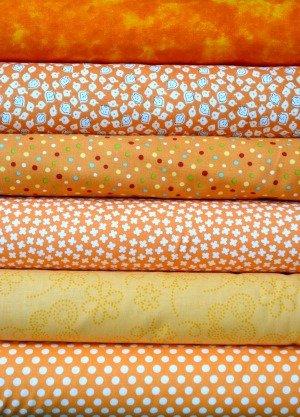 Orange Fabric Bundle
