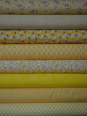 Yellow Fabric Bundle