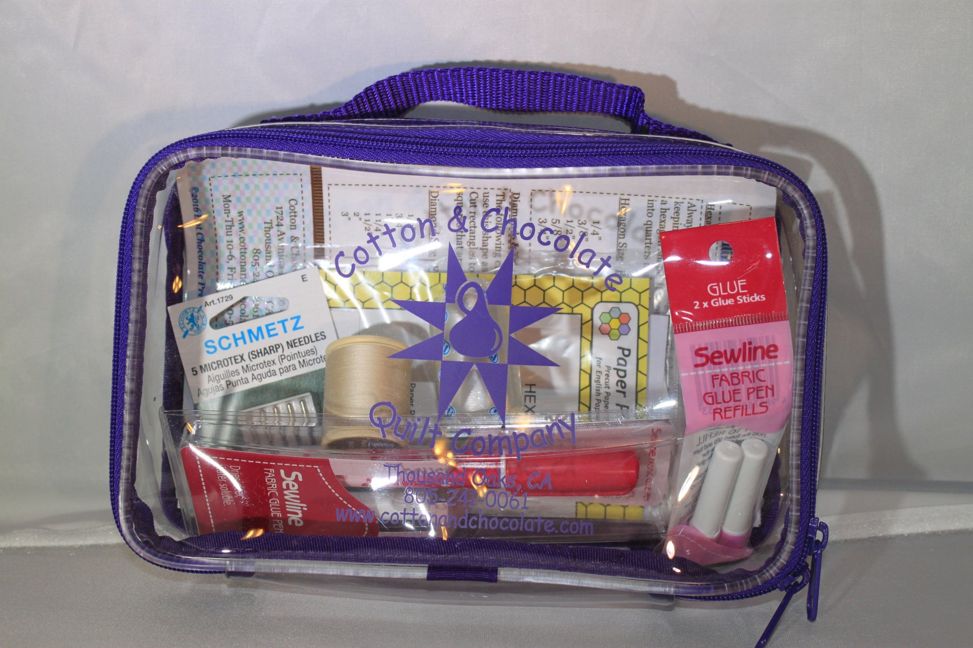 Hex Flower DELUXE Machine Starter Kit-  With tech sheet and Project Bag