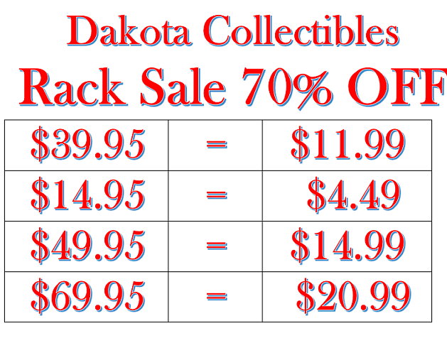 Dakota Collectibles Sale