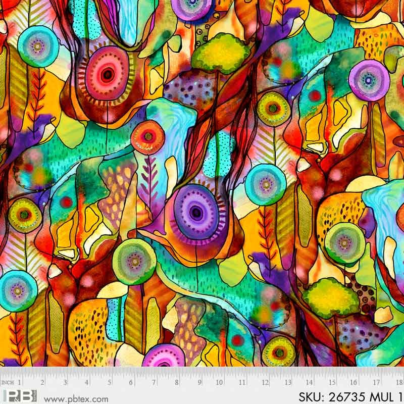 Printemps Abstract Floral