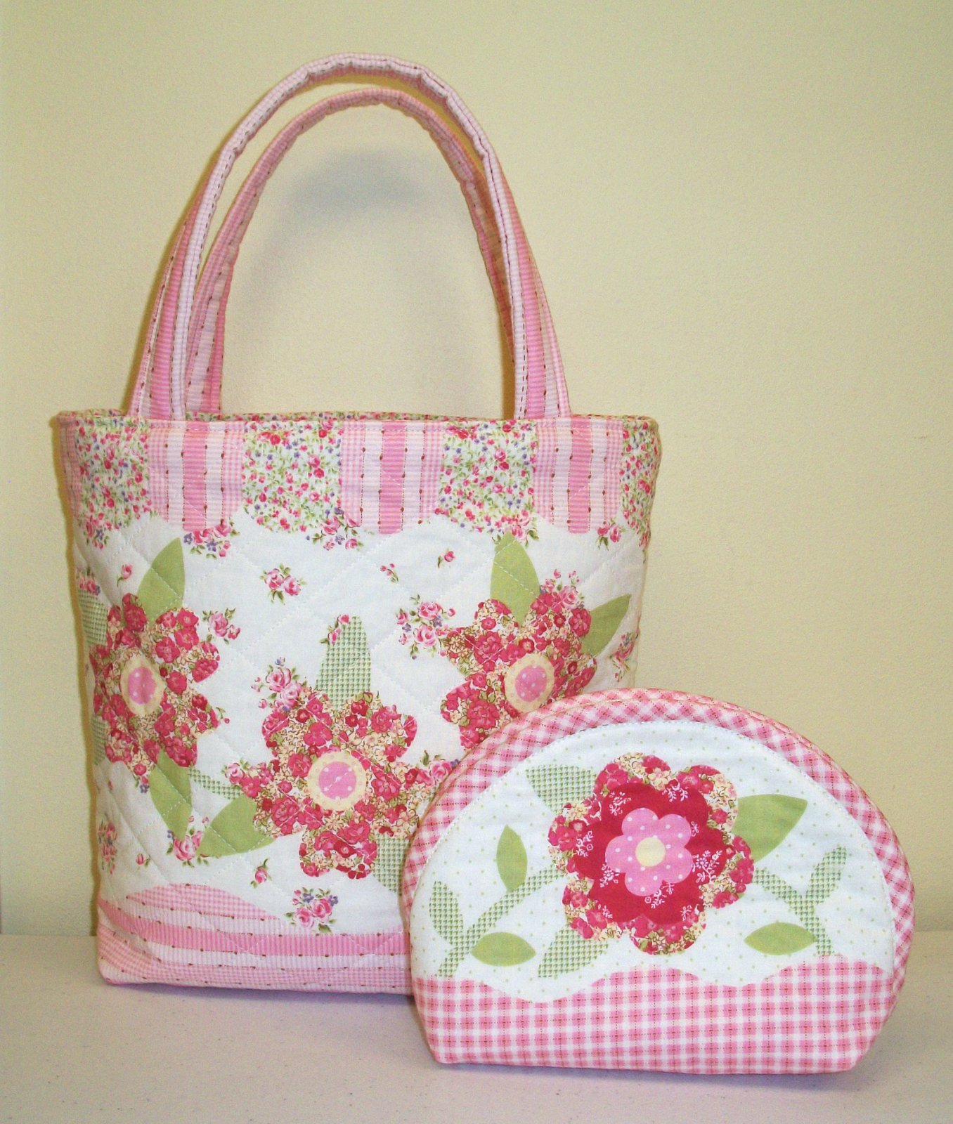 Pink One Step Hand Bag & Pouch Kit