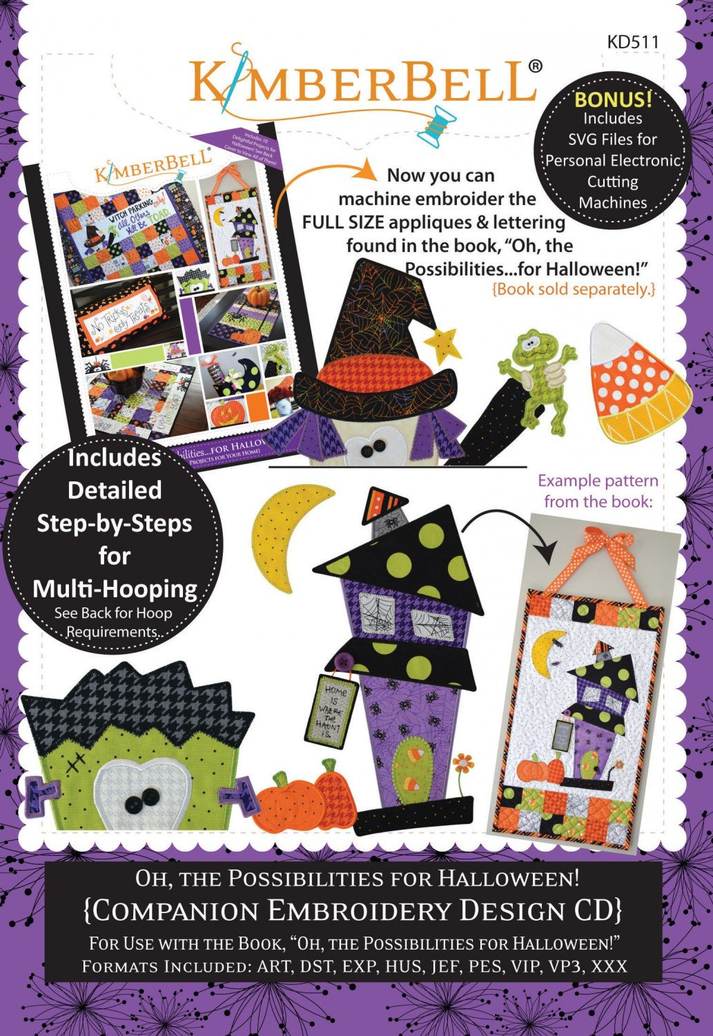 'Oh the Possibilities for Halloween' CD