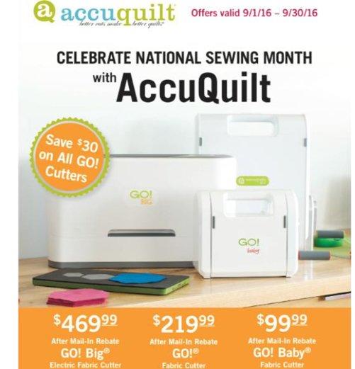 accuquilt go machine
