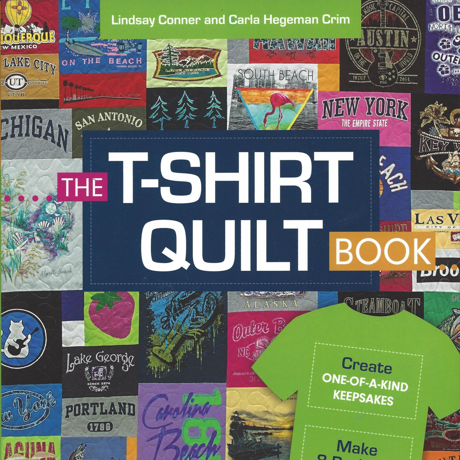 T Shirt Quilt Pattern Book : SEWING