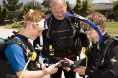Diving with the Boy Scouts