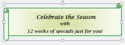 Celebrate the Season Banner