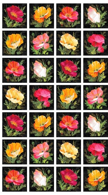 23534 Full Bloom Panel