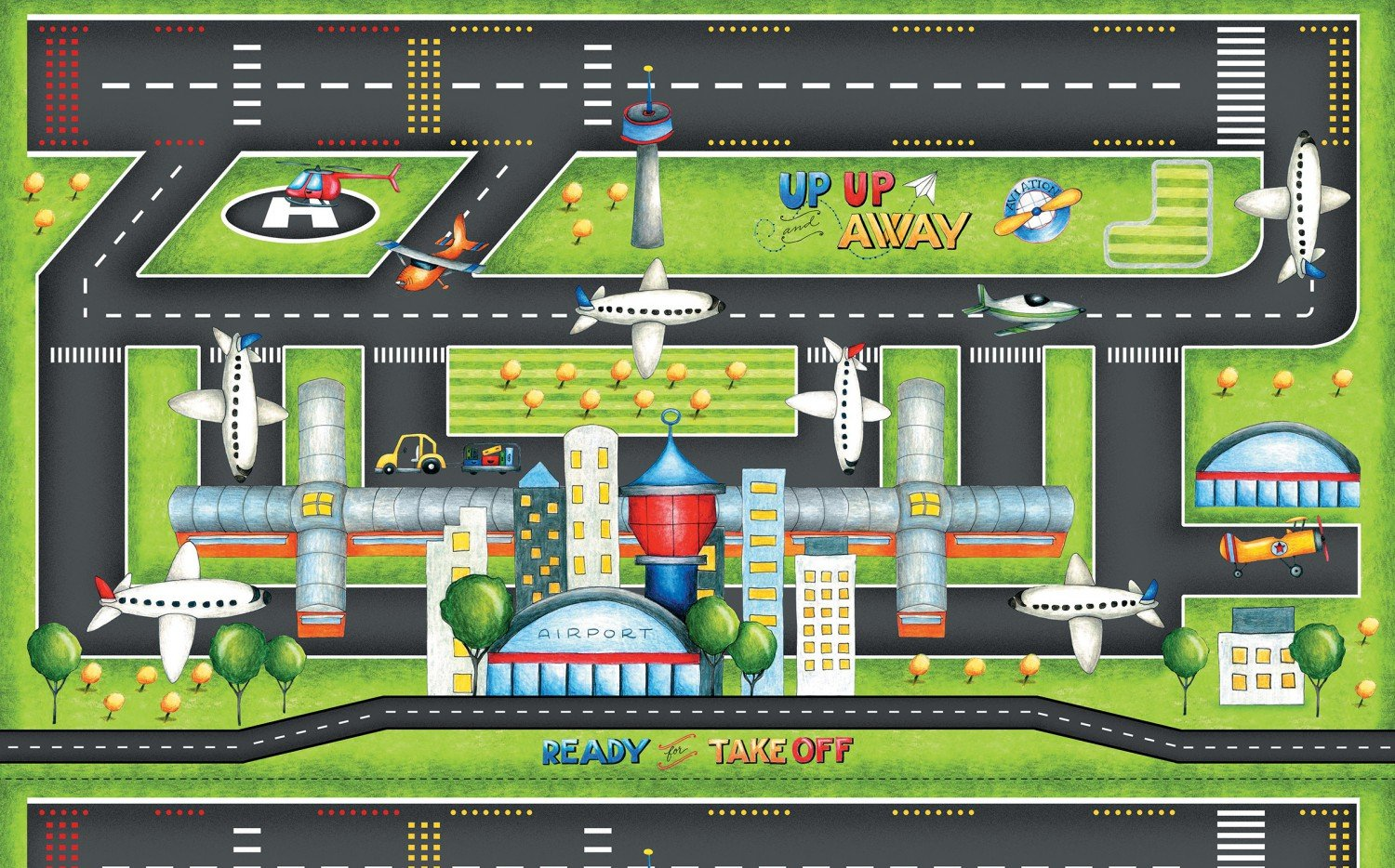 23508 Ready for Takeoff Playmat