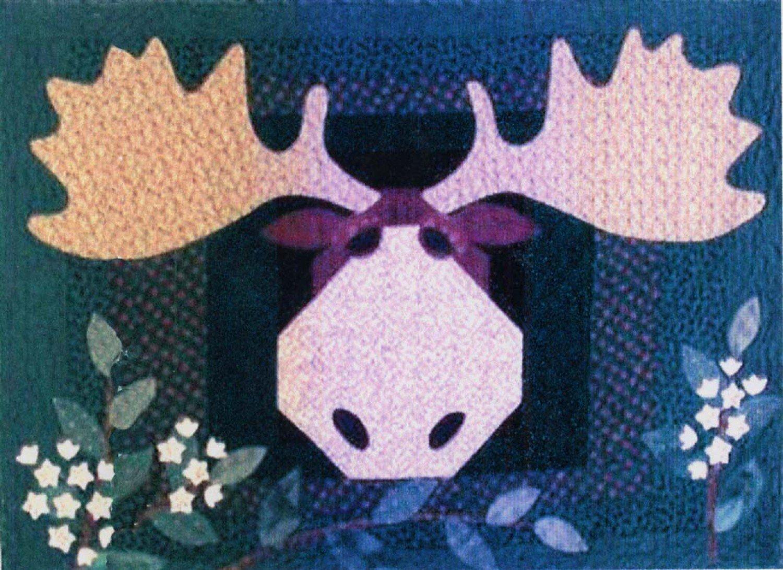 Moose on the Loose Quilt Pattern by Prairie Grove Peddler ... : quilt peddler - Adamdwight.com