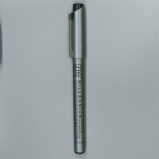 Zig Pen - Black 01