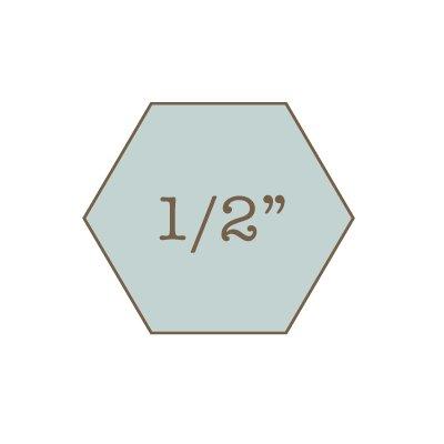 1/2 Hexagon Papers PWBF