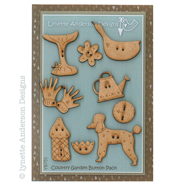Country Garden Button Pack