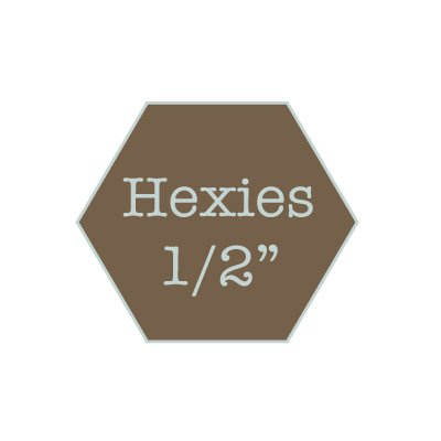 Hexies 1/2 water soluble
