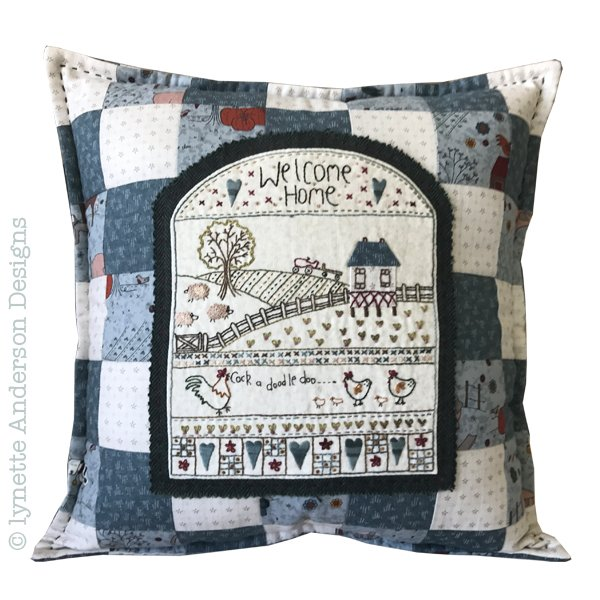 Welcome Home Pillow - pattern