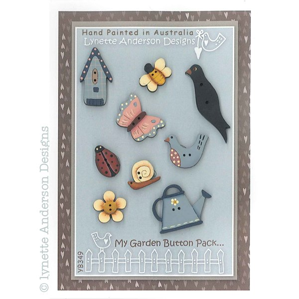 Garden Scenes Button Pack