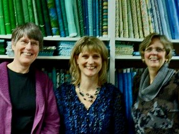 Kathy Wylie, Val and Leslie