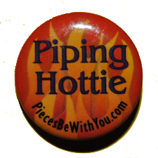 Piping Hottie Pin