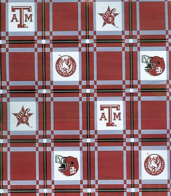 Texas A Amp M Tablecloth Tailgate Fabric