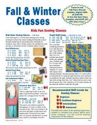 Fall 2016 Class Schedule