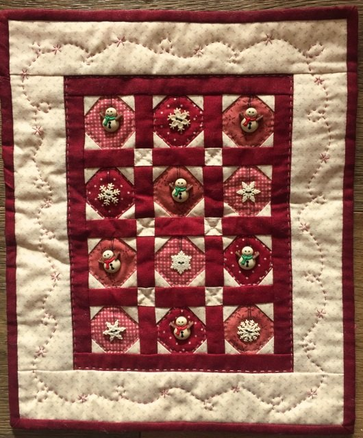 Snow Buttons quilt kit by Red Button Quilt Co. : red button quilt co - Adamdwight.com