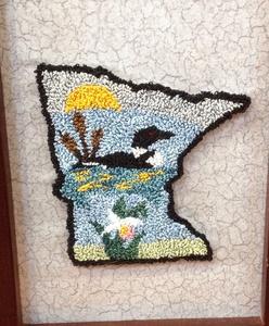 Needle Punch Minnesota Memories by Debbie Wells