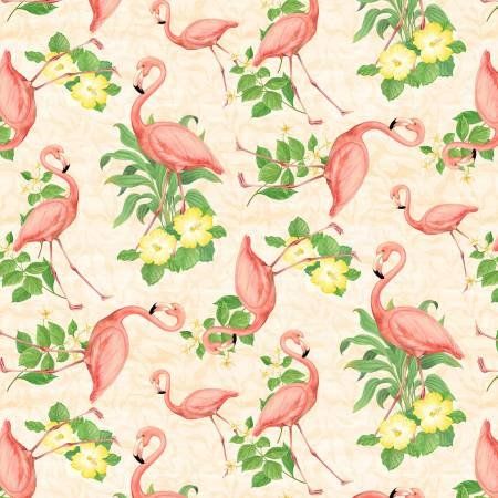 1406 28104 137 Flamingos Cream