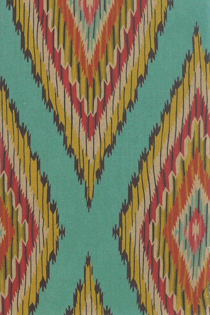 42237 12L Color Daze Linens Turquoise