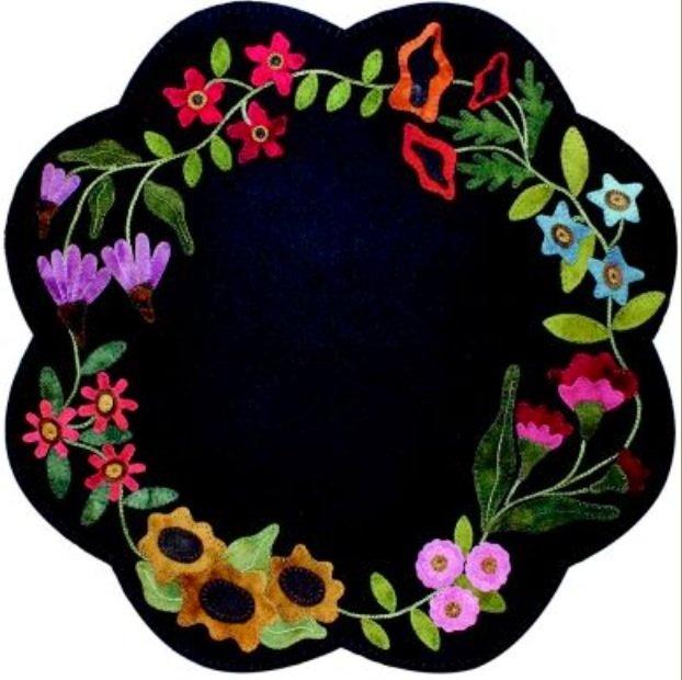 Garden Blooms Table Mat