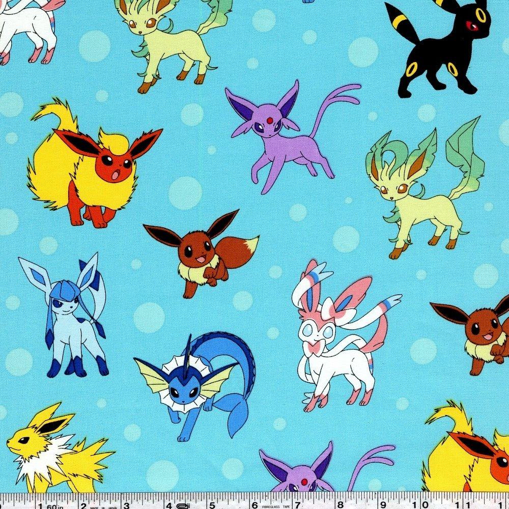 Pokemon - Eevee & the 8 Eeveelutions - Aqua