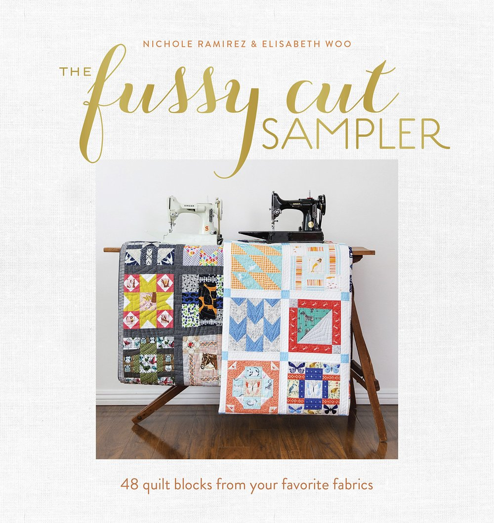 The Fussy Cut Sampler - Autographed copy