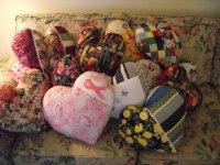 Heart Pillows for October