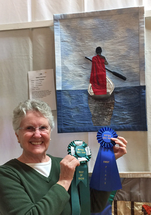 Linda Garofalo wins best of show