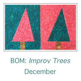 Improv Tree Blocks for December