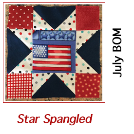 Star Spangled Block for July