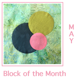 Block of the Month Applique Circles