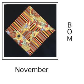 Hour Glass Block for November